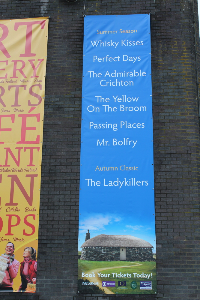The Summer Season Banner at Pitlochry Festival Theatre
