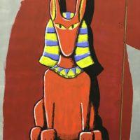 Detail Egyptian Backdrop