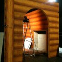 Santa's Log Cabin